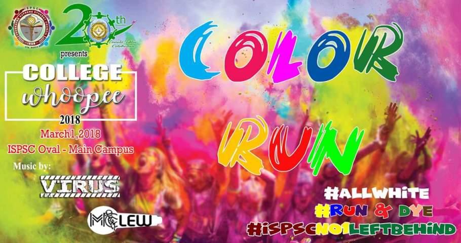 First Ever Color Fun Run Held Ilocos Sur Polytechnic State College