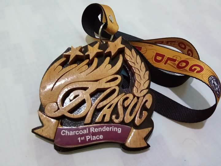 Jesureth Cuaresma, national champion in Charcoal Rendering   Ilocos